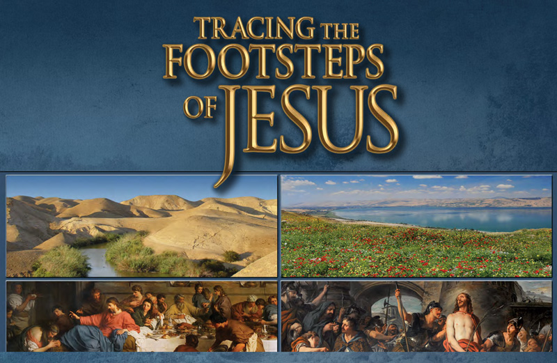 Footsteps of Jesus DVD Series